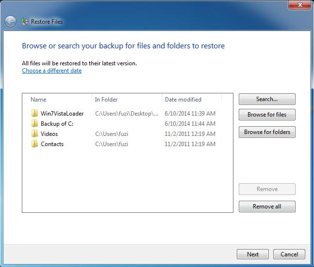 add files or folders