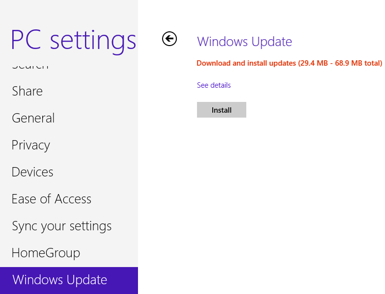 how to download windows updates but not install