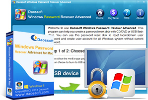 Windows Password Rescuer for Mac