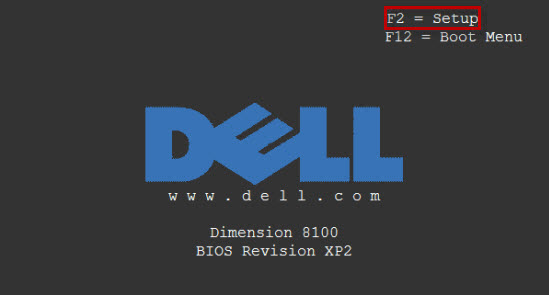 Dell entry key