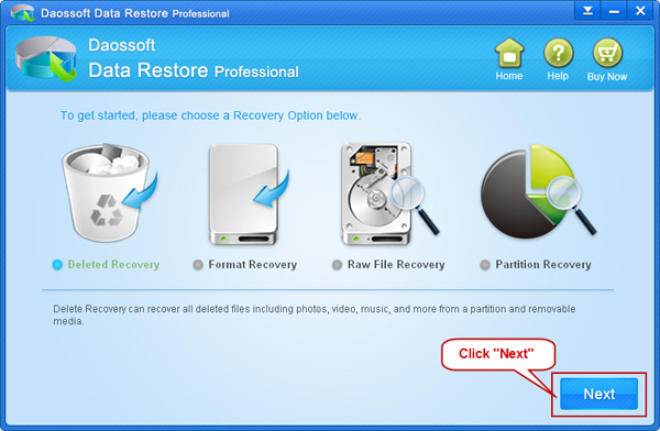 How to Recover Deleted Files in Windows XP | Daossoft