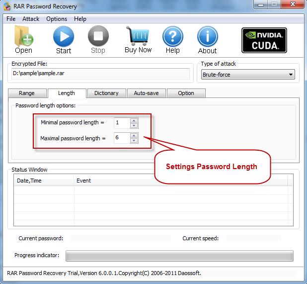 [ ������ ] : ������ Advanced RaR Password Recovery ��� ���� �� ������