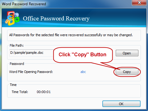 Get Back Office Password