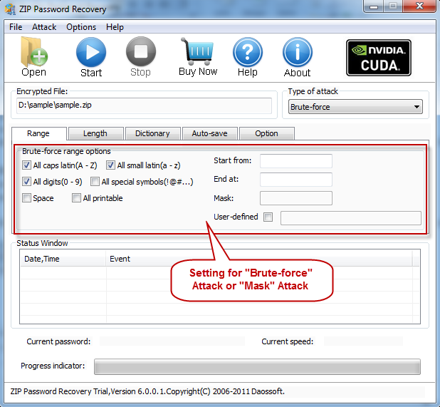 How to Recover ZIP Password when Forgetting It   Daossoft