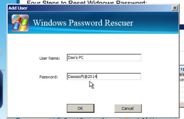how to use windows password geeker advanced