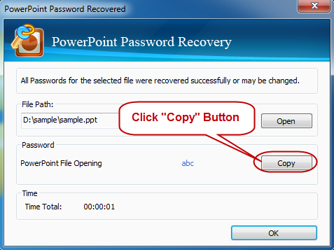 Get Back PowerPoint Password