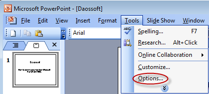 How to Remove Password from Microsoft PowerPoint 2003 Presentation.