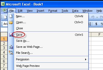 excel 2003 spreadsheet password protect