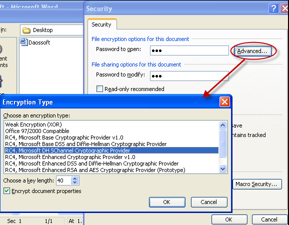 How to Set Password to Protect Your Microsoft Word 2003 Document