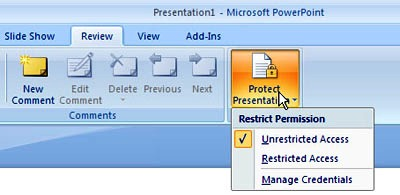 How to Simply Lock a PowerPoint Presentation from Editing