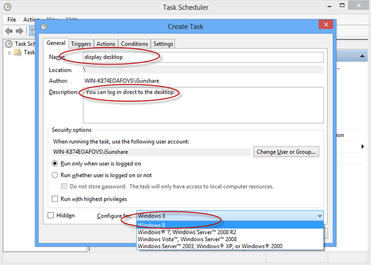windows 2003 auto login