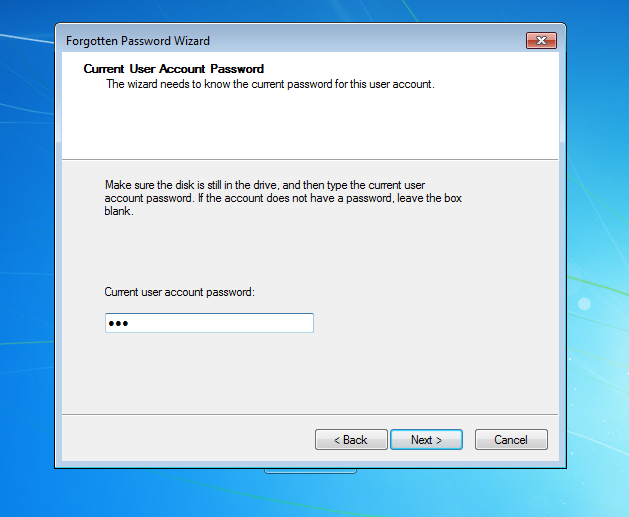 How to Create and Use a Windows 7 Password Reset Disk | Daossoft