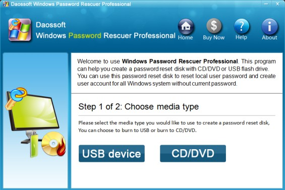 forgotten windows xp professional password