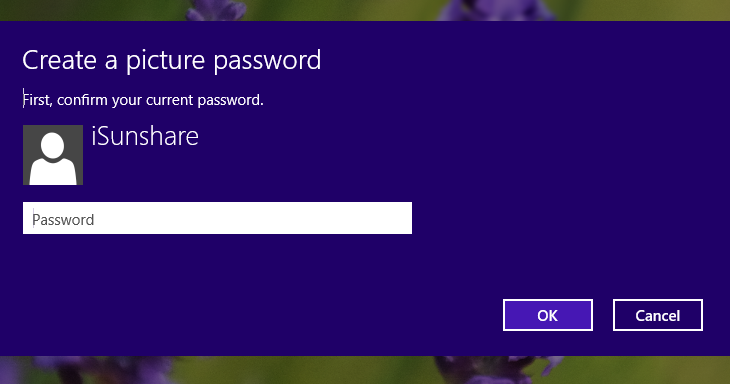 Confirm your password