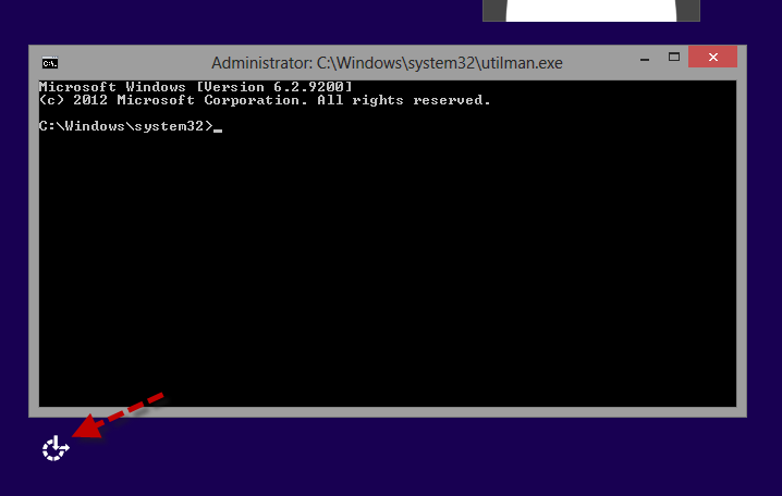 open win 8 command prompt