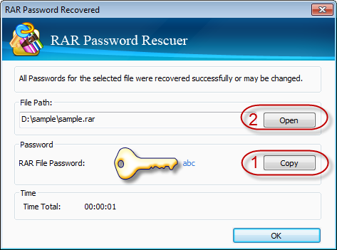 break rar password windows