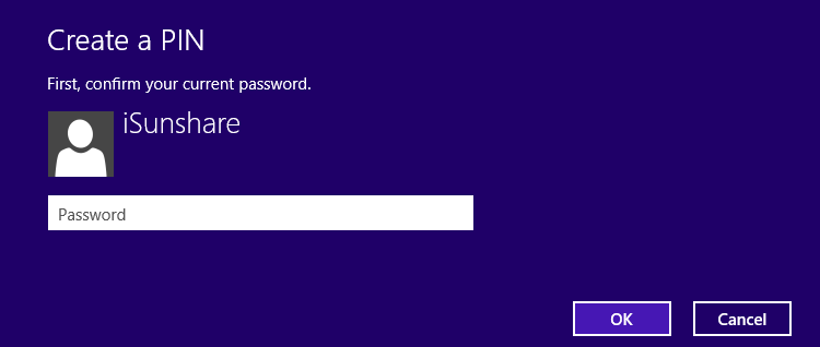 enter your current password