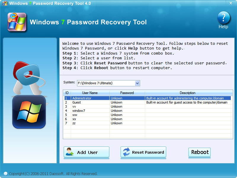 Forgot Windows 7 Password - Best Way