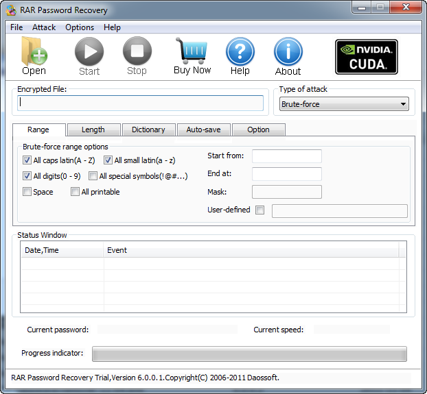 RAR Password Recovery Tool Free Download