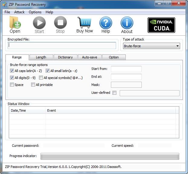ZIP Password Decryption 6.0.0.5 full
